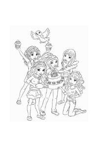 disegni da colorare per bambini di 9 anni lego friends