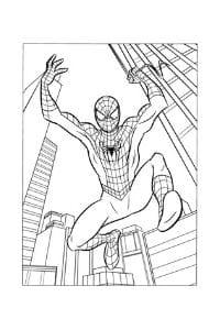 disegni da colorare per bambini di 9 anni spiderman