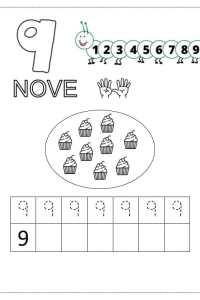 schede pregrafismo numeri da stampare-9