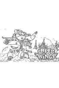 Disegni da colorare e stampare di Super Wings