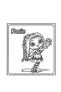 Little Charmers disegni da colorare Hazel