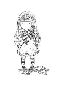 gorjuss disegni delle bamboline da colorare per bambini PDF