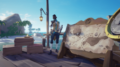 Sea Of Thieves caccia al tesoro