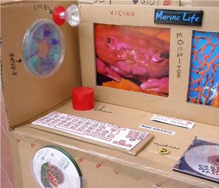 Giocattoli Di Cartone Un Batiscafo Per Giocare Alloceanografo