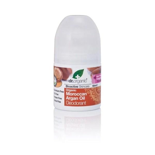 Dr. Organic – Deodorante Organic Morrocan Argan Oil