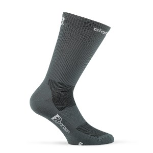 Calcetines altos verano SOLID Gris