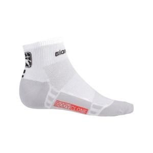 Calcetines cortos verano Mujer FRC Blanco/Negro
