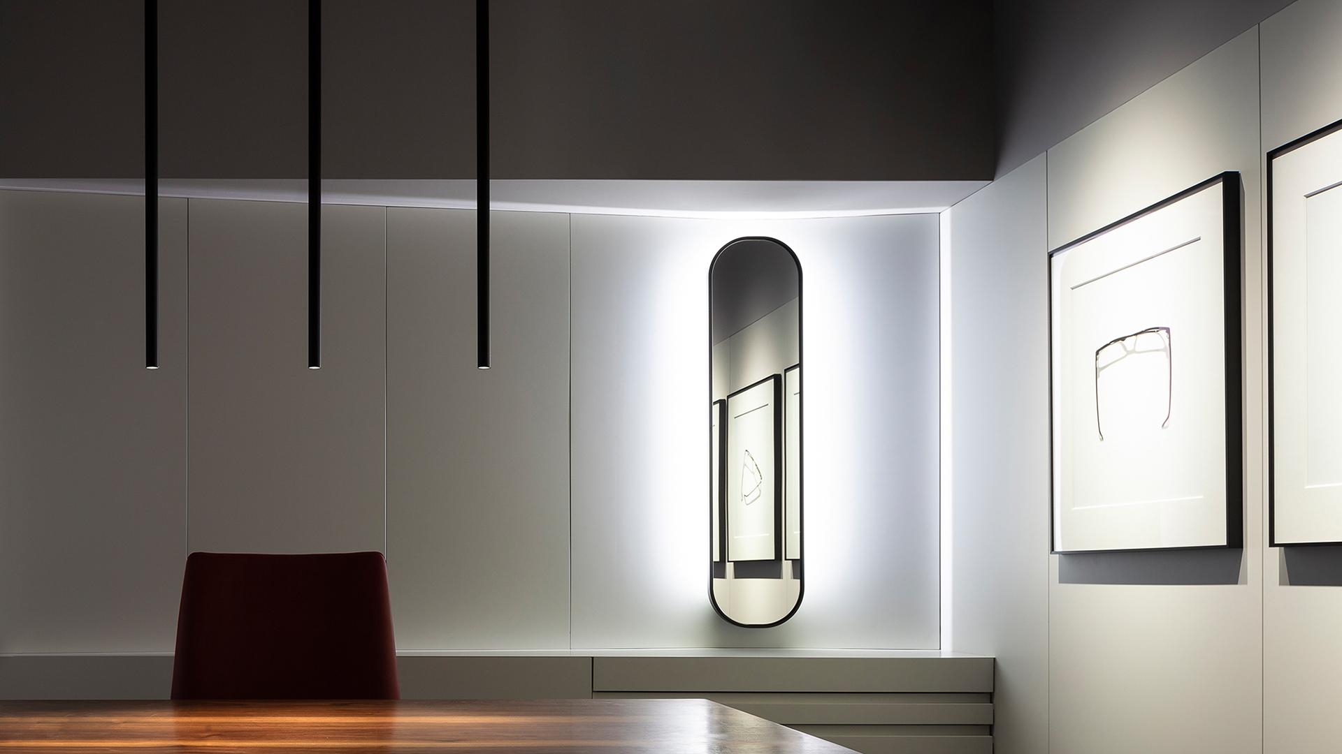 Opticas Cervantes, Sevilla 2018. Arquitecto Giordano Baly