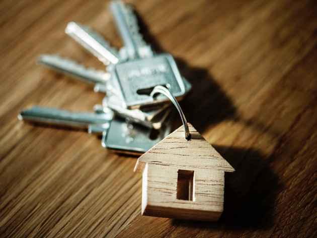 chiavi di una casa acquistata con il mutuo