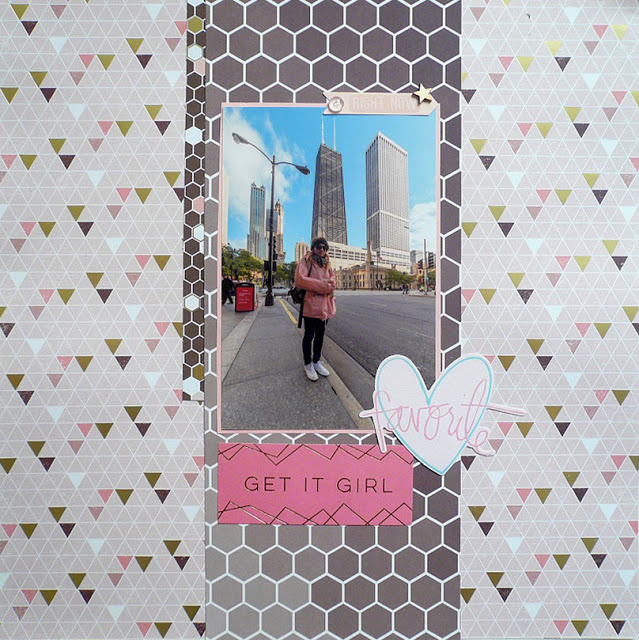 Giorgia Rossini - Chicago scrapbooking layout