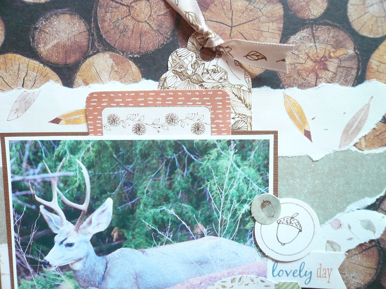 Giorgia Rossini for Docrafts OH HELLO DEER FRIEND layout 2