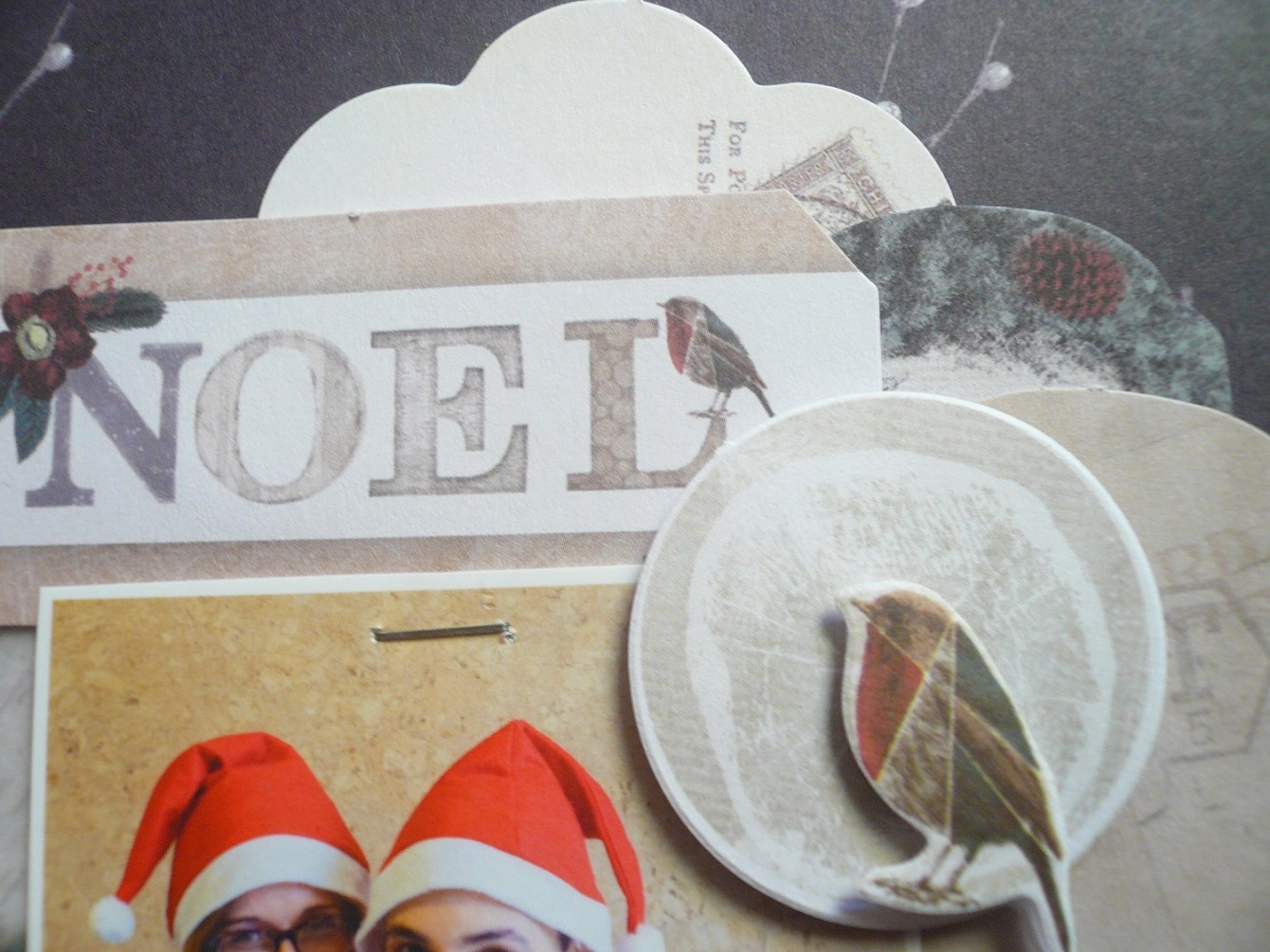 Giorgia Rossini for Docrafts LOVE CHRISTMAS layout 3