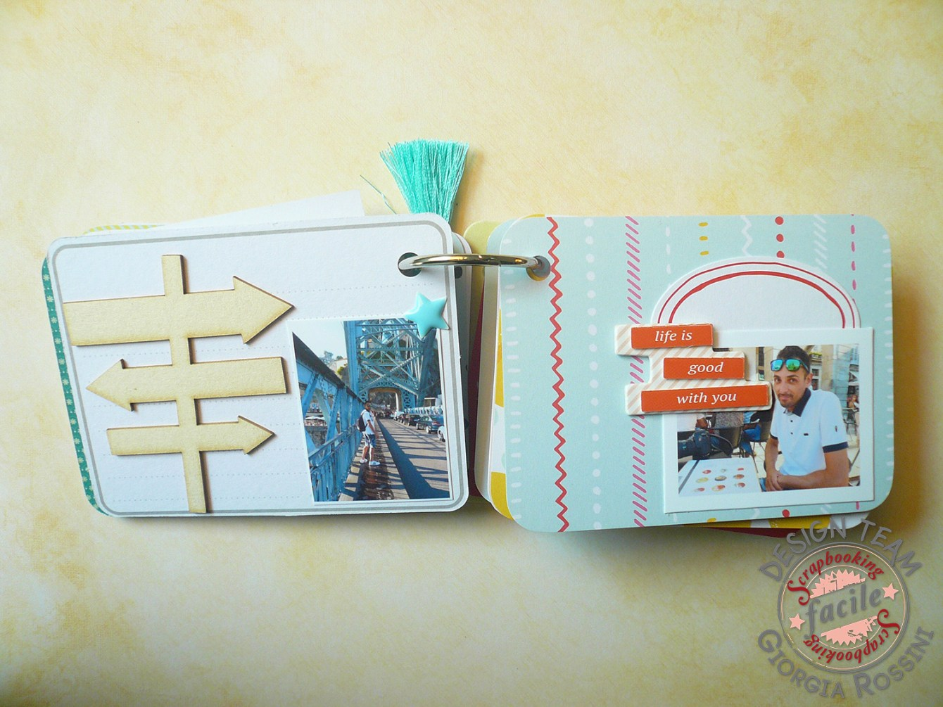 Giorgia Rossini for Scrapbooking facile