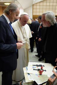 Antonio Nocera Papa Francesco Giorgio Bertozzi Neoartgallery - 2
