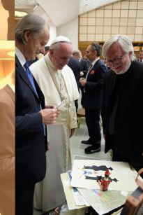 Antonio Nocera Papa Francesco Giorgio Bertozzi Neoartgallery - 3