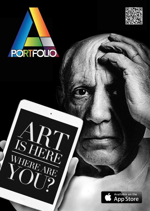 Artportfolio app apple Vernice art fair 2