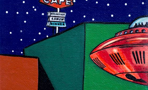 Pop Corner  fantasiose realizzazioni AstroPop di Giancarlo Montuschi