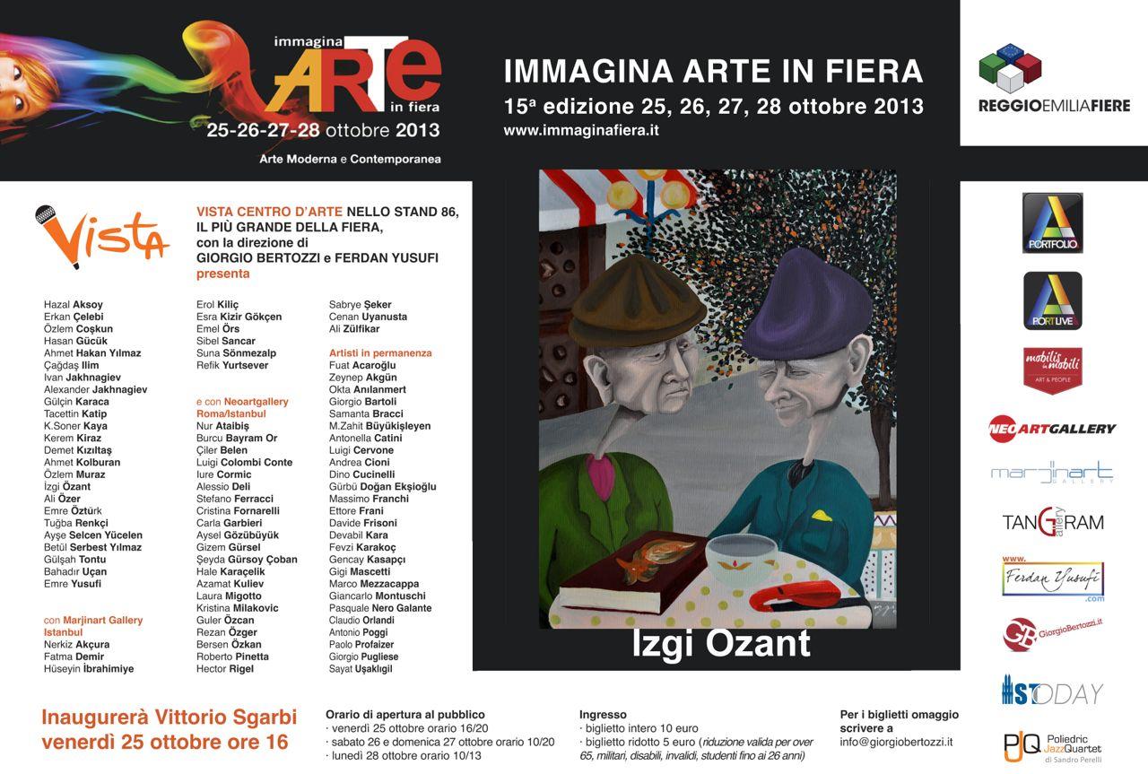 Giorgio Bertozzi Neoartgallery Immagina 2013 invito 01