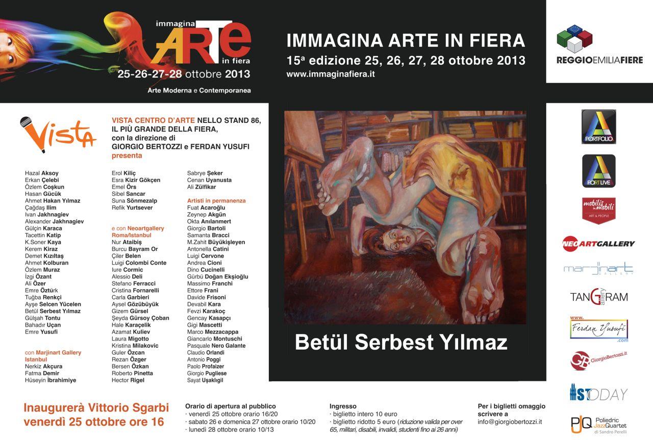 Giorgio Bertozzi Neoartgallery Immagina 2013 invito 03