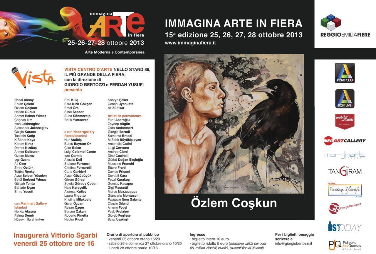 Giorgio Bertozzi Neoartgallery Immagina 2013 invito 08