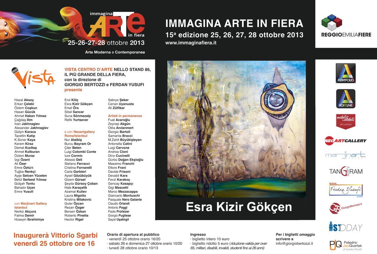 Giorgio Bertozzi Neoartgallery Immagina 2013 invito 16