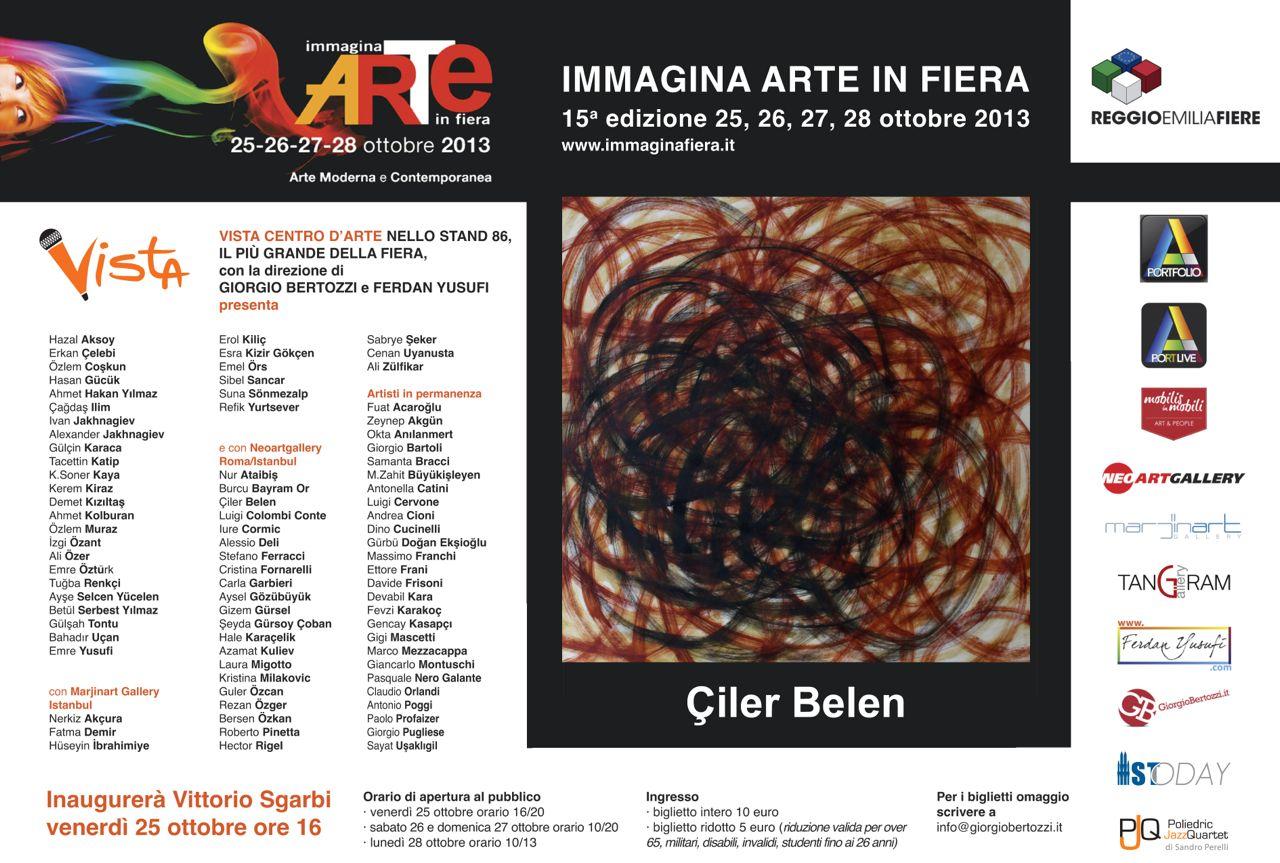 Giorgio Bertozzi Neoartgallery Immagina 2013 invito 19
