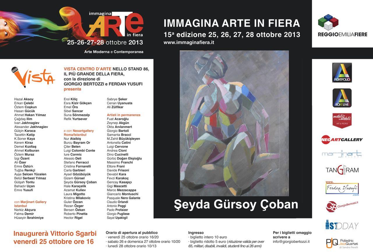 Giorgio Bertozzi Neoartgallery Immagina 2013 invito 22