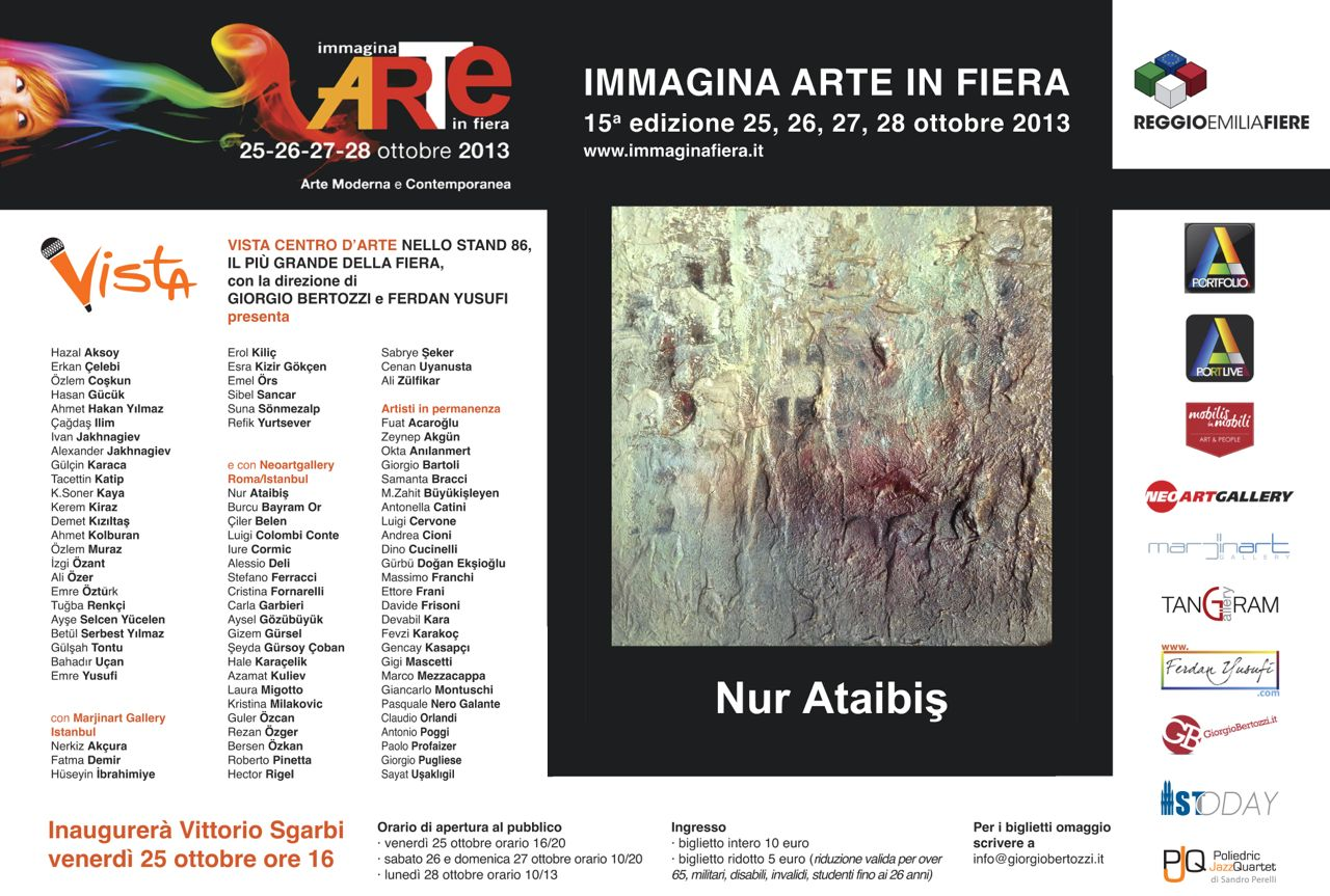 Giorgio Bertozzi Neoartgallery Immagina 2013 invito 24