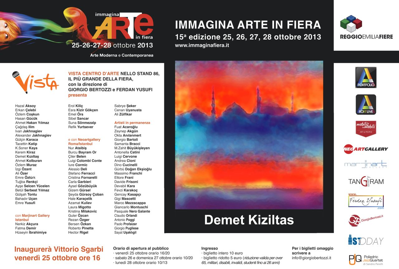 Giorgio Bertozzi Neoartgallery Immagina 2013 invito 31