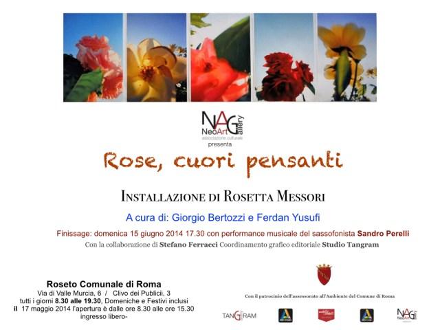 Giorgio Bertozzi Rosetta Messori Rose cuori pensanti.