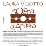 Gogna D'Artista performance  provocazione  installazione di Laura Migotto