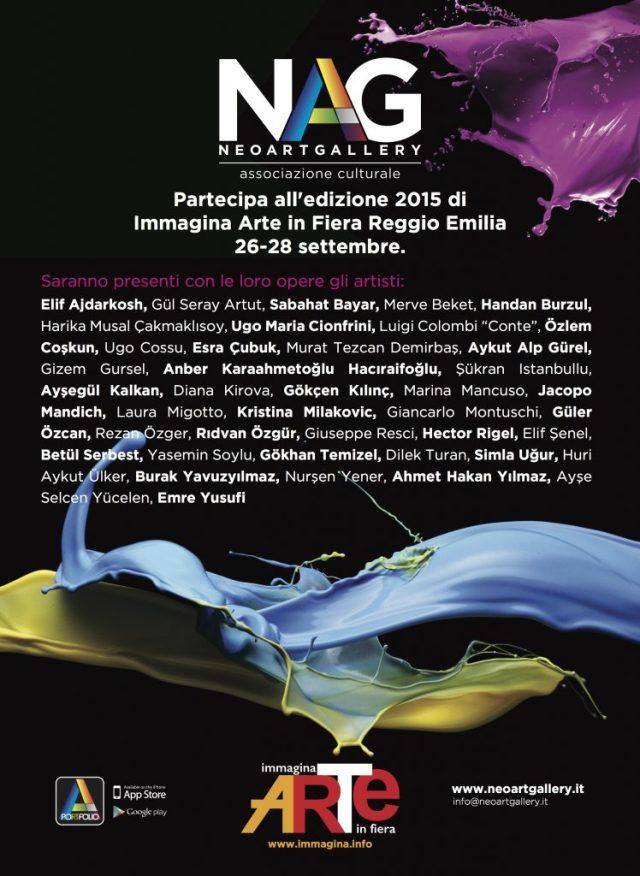 Invito Immagina 2015 Reggio Emilia