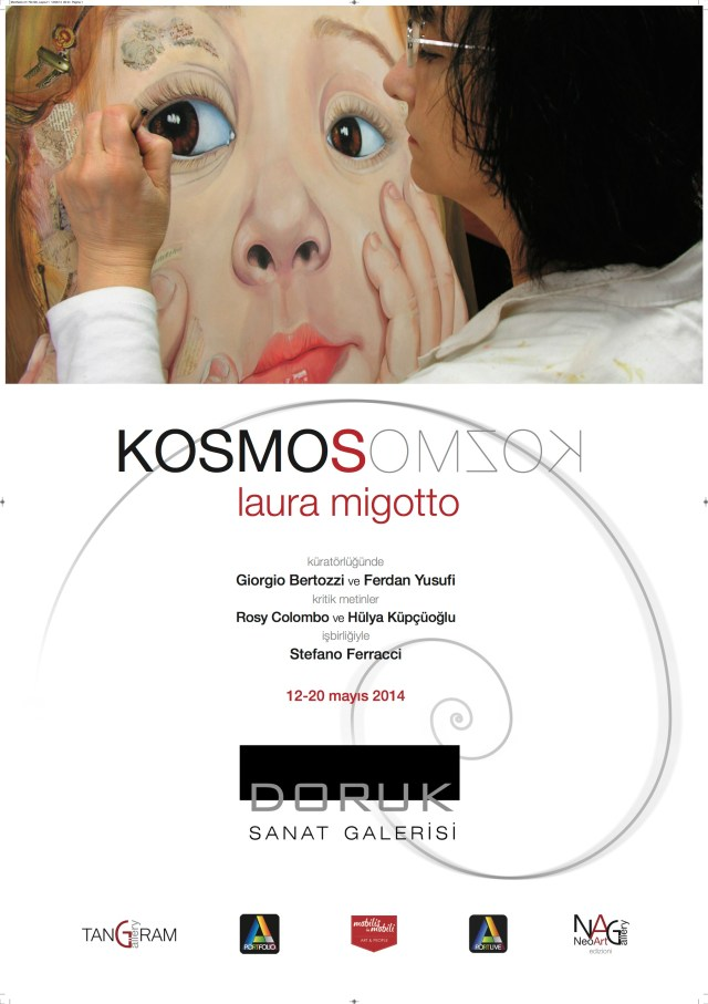 Kosmos Laura Migotto Neoartgallery Manifesto cm 70x100