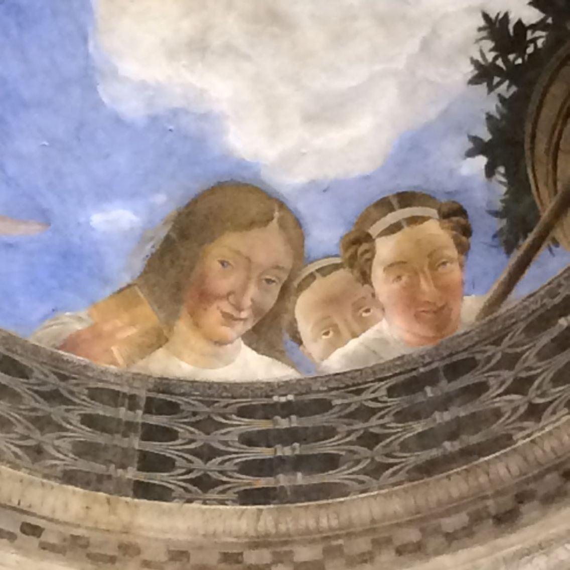 Mantova La camera Degli Sposi Mantegana Giorgio Bertozzi Neoartgallery - 8