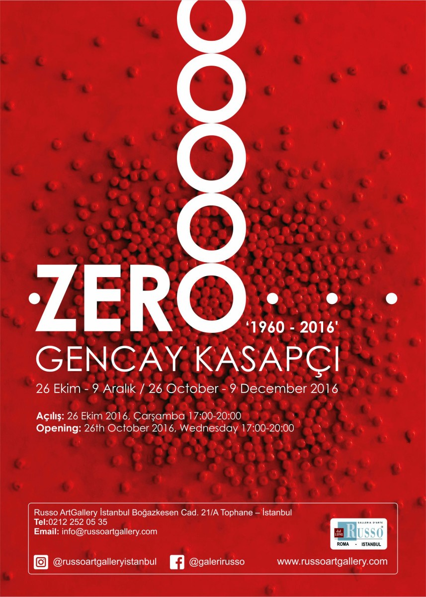 Zero 1960 2016 Gencay Kasapci