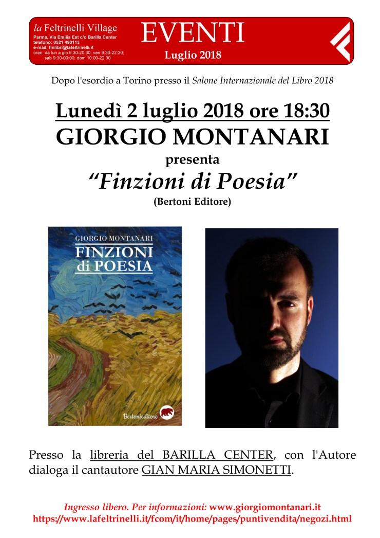 la Feltrinelli (BARILLA CENTER, Parma) presentazione 02/07/2018