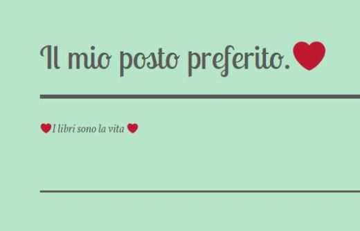 IlMioPostoPreferito blog, Federica Floro