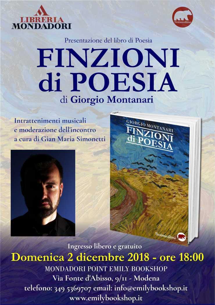 Finzioni di Poesia a Modena da Emily Bookshop