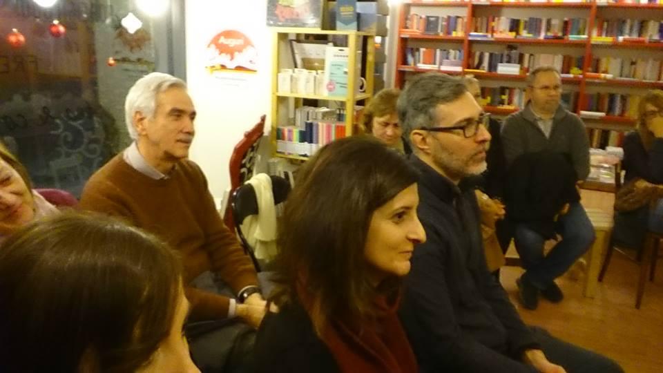 Finzioni di Poesia, pubblico presente da Emily Bookshop, Modena (02/12/2018)