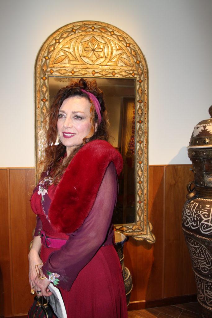 Floriana La Rocca al Museo Della Pace di Napoli