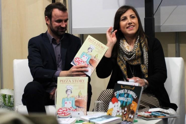 Pizza Story, Montanari e Salerno al Salone Internazionale del Libro di Torino 2019, #SalTo19
