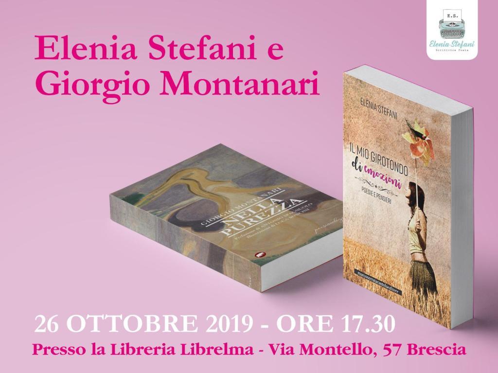 Libreria Librelma, Brescia - Nella Purezza, 26/10/2019 #giorgiomontanari