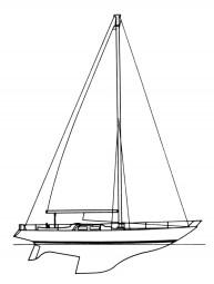 SLOOP Indica una barca con un solo albero, con una sola randa e una vela di prua, fiocco o genoa. la prima non ha sovrapposizione sulla randa, la seconda invece si.