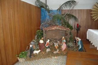 Il presepe nella chiesa di Ponte all'Ania