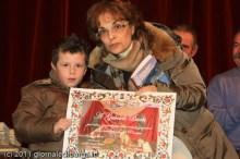 La premiazione di Gabriele Barbi