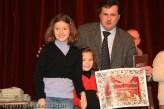 La premiazione della famiglia Donati