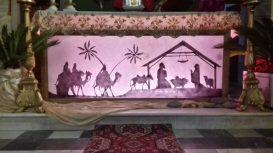Presepe nella chiesa di Sommocolonia