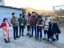 il gruppo della befana di San Pietro in Campo