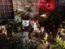 Il Presepe di Sandro Adami in via della Speranza a Barga
