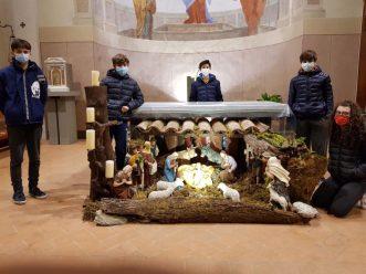 Il Presepe nella chiesa di San Pietro in Campo